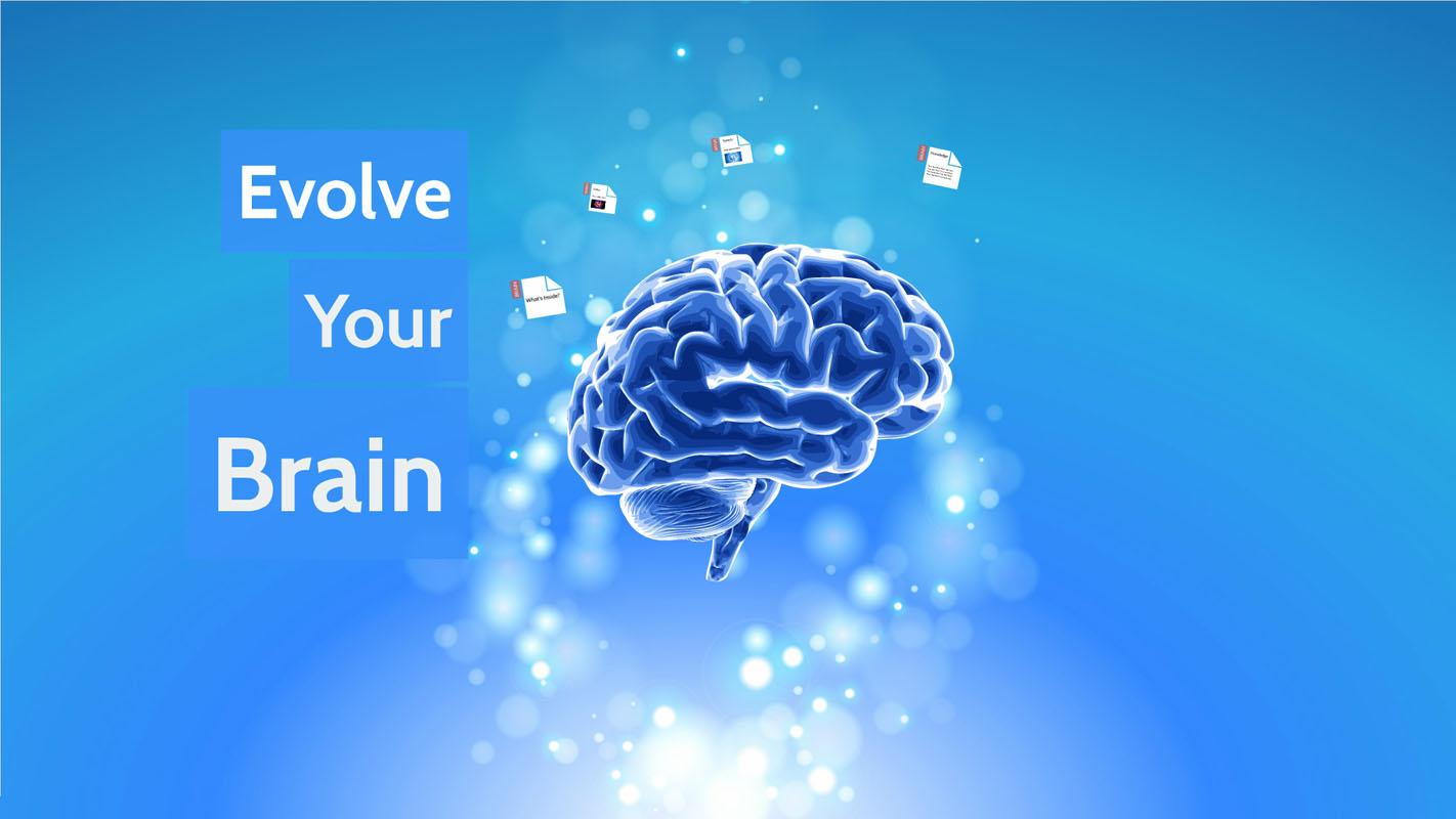 Brain and neurons prezi template
