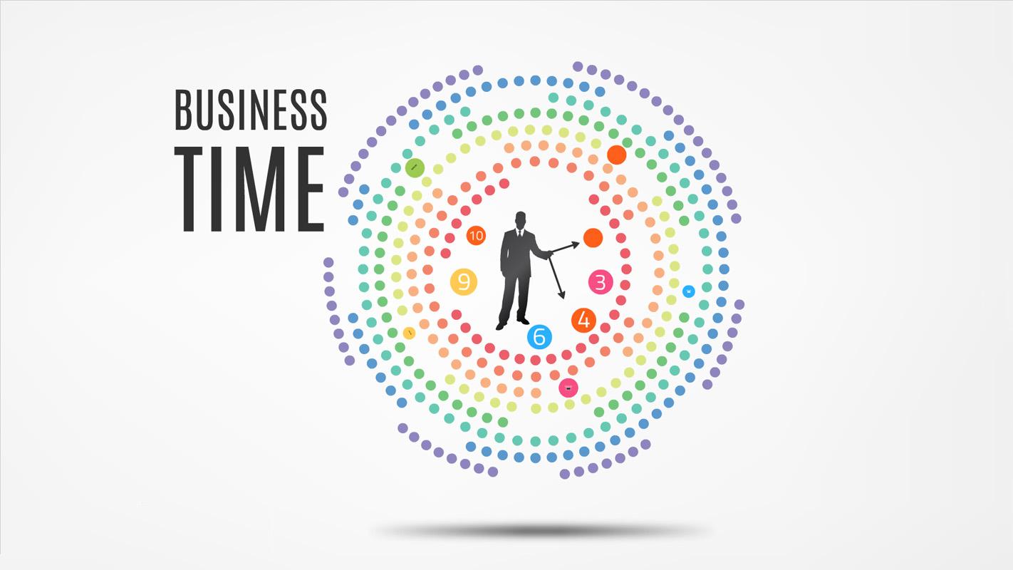 Business time Prezi template