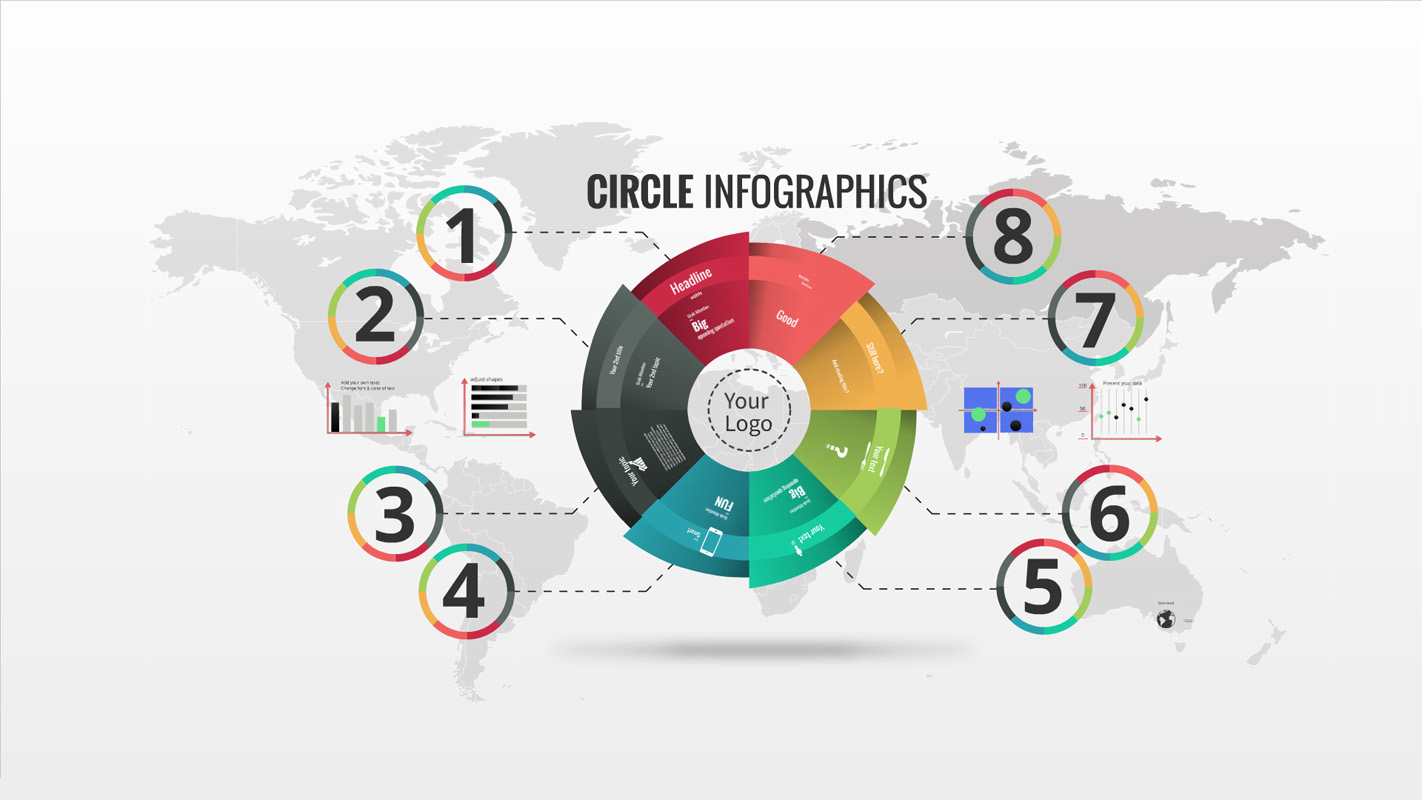 Circle Infographics Prezi Template