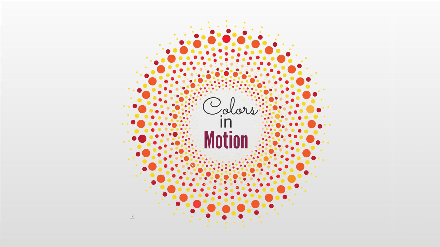 Colors in Motion Prezi Template