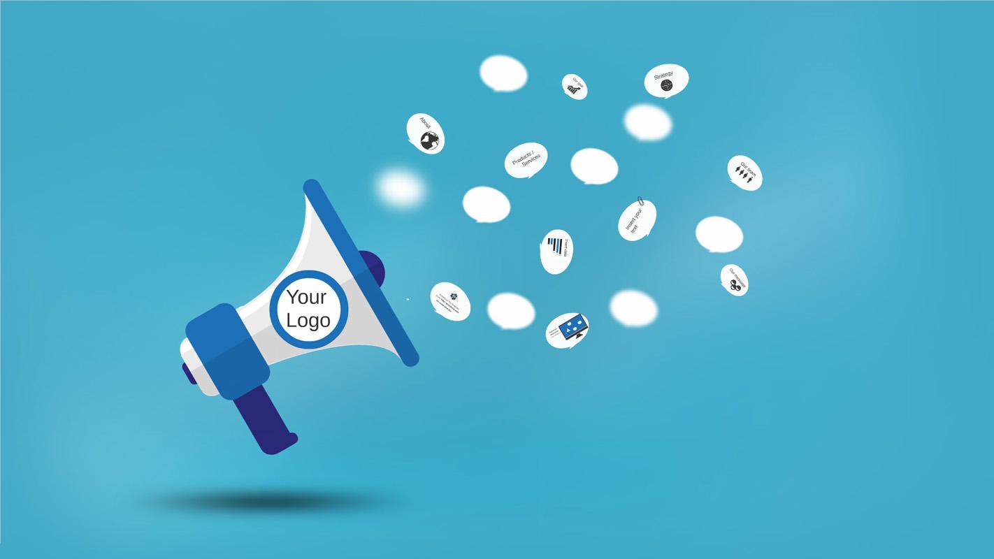 Digital Marketing Prezi Template