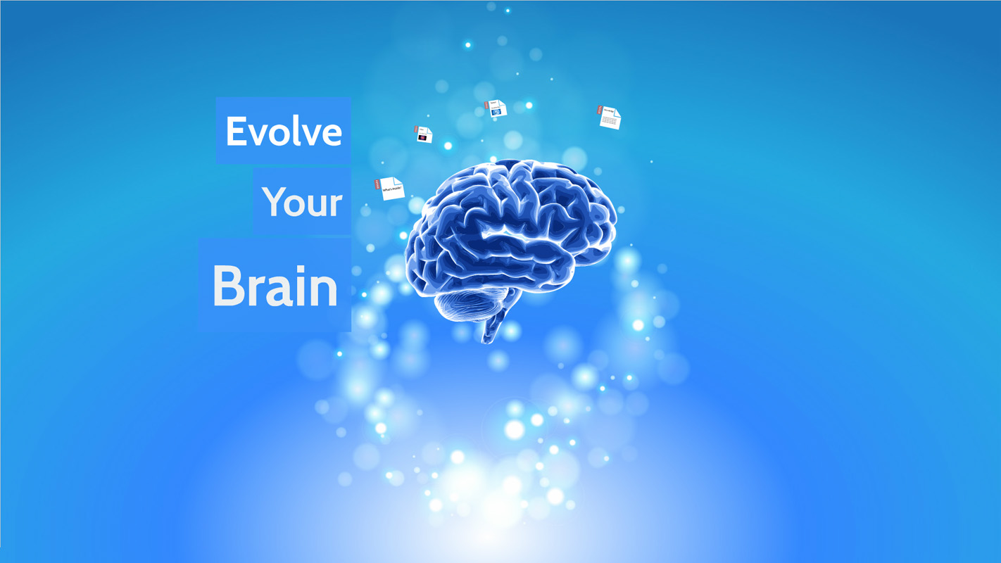 Evolve Your Brain Prezi Template