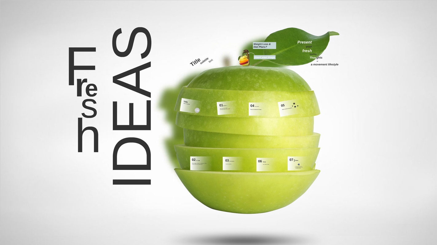 Fresh Ideas Prezi Template