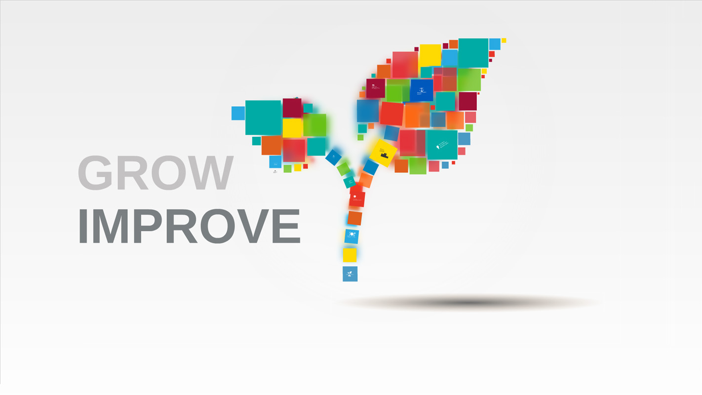Grow and Improve Prezi Template