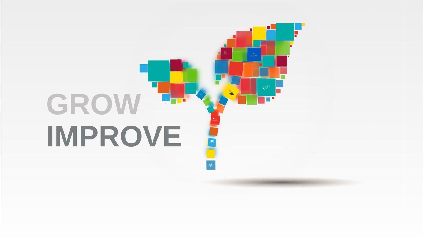 Grow and Improve Prezi Template