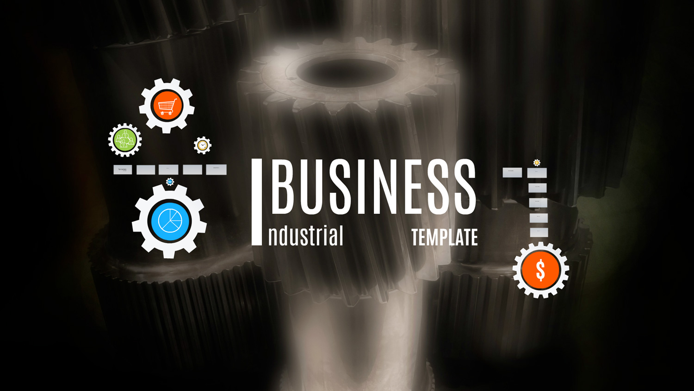 Industrial Business Prezi template