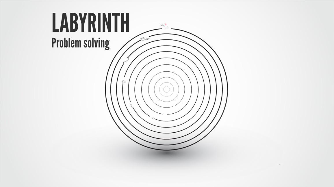 Labyrinth Prezi template