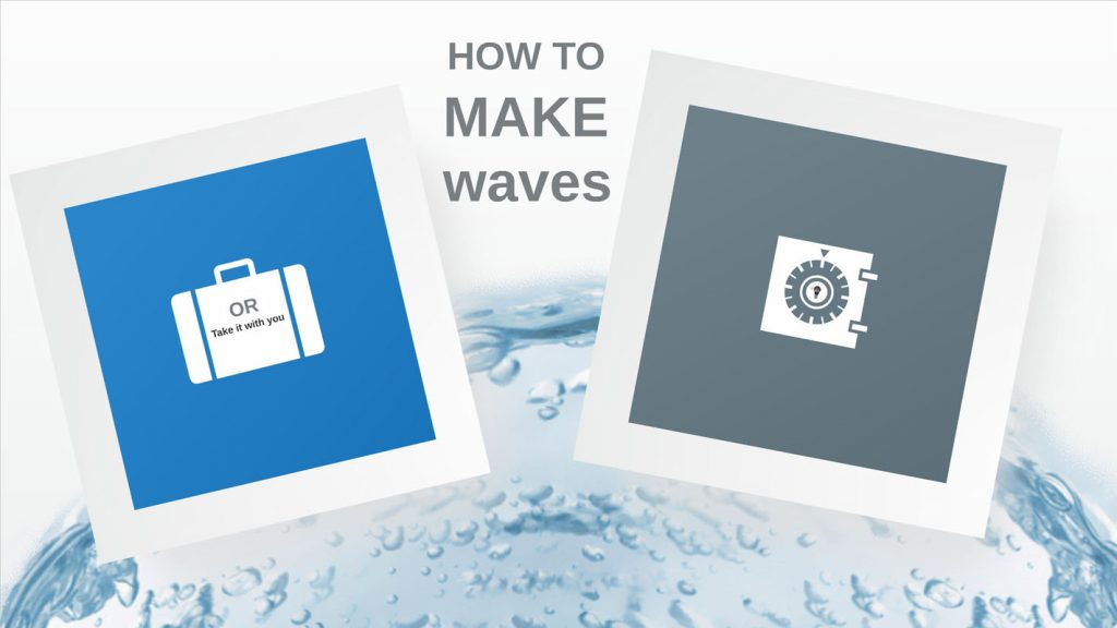 Make Waves Prezi template