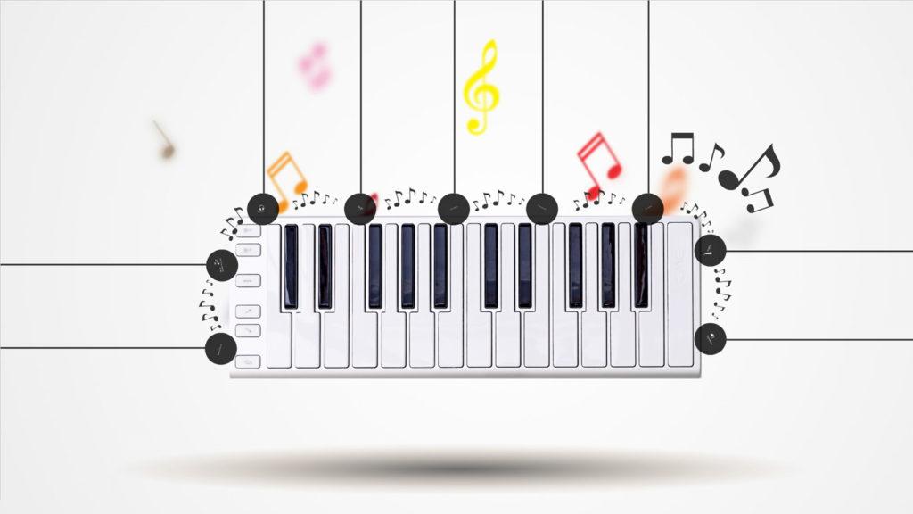 music presentation template | | creatoz collection, Presentation Template Music, Presentation templates