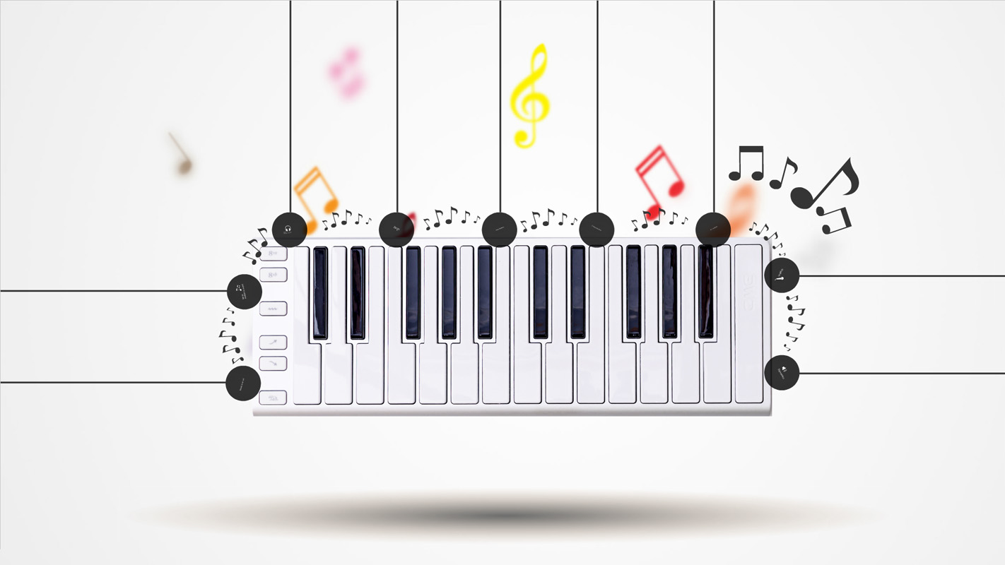 Music is the Key Prezi Template