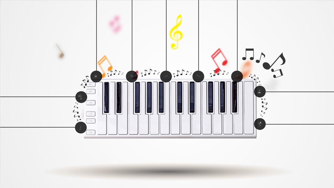 Music is the Key Prezi Template