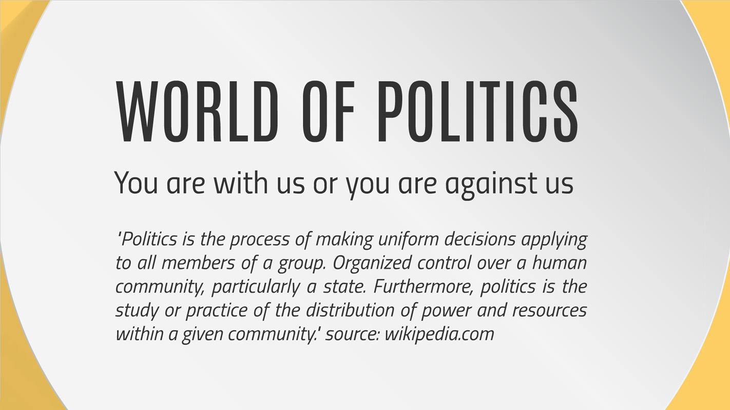 Politics Presentation template