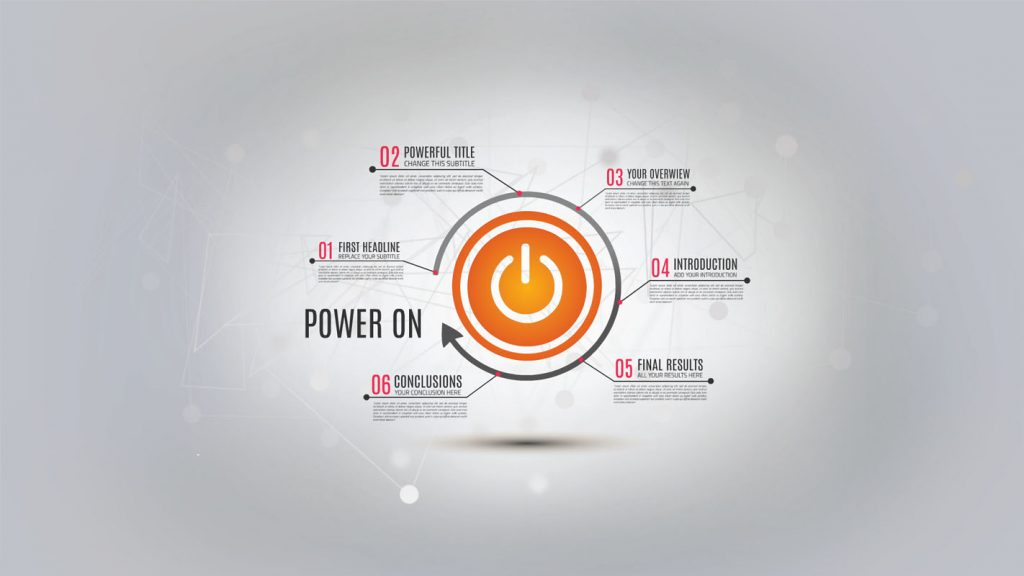Power Presentation template