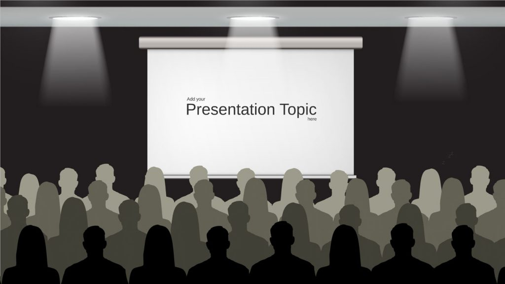 Presentation about presenting prezi template