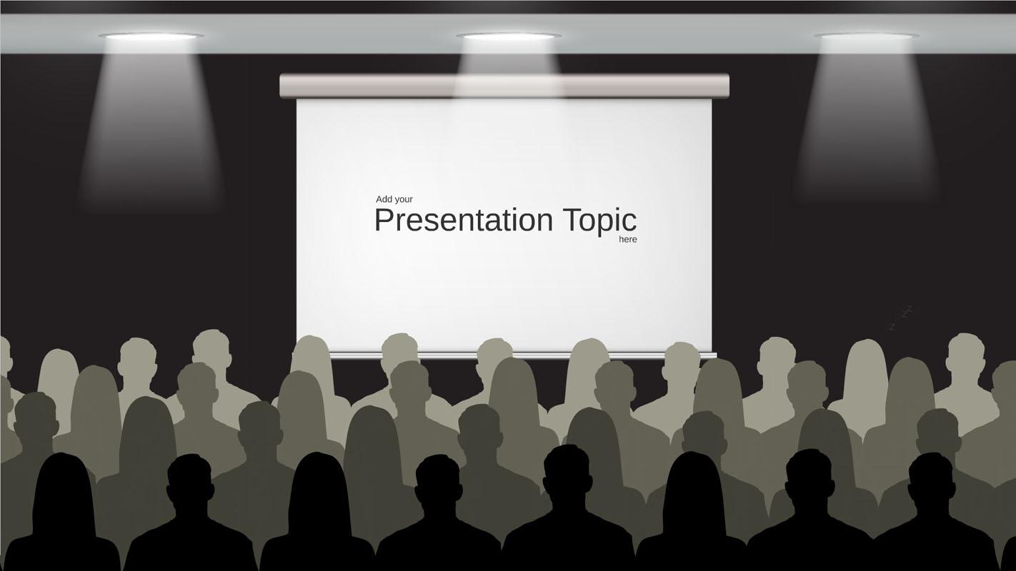 Presentation about presenting prezi template