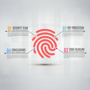 Digital fingerprint Prezi template