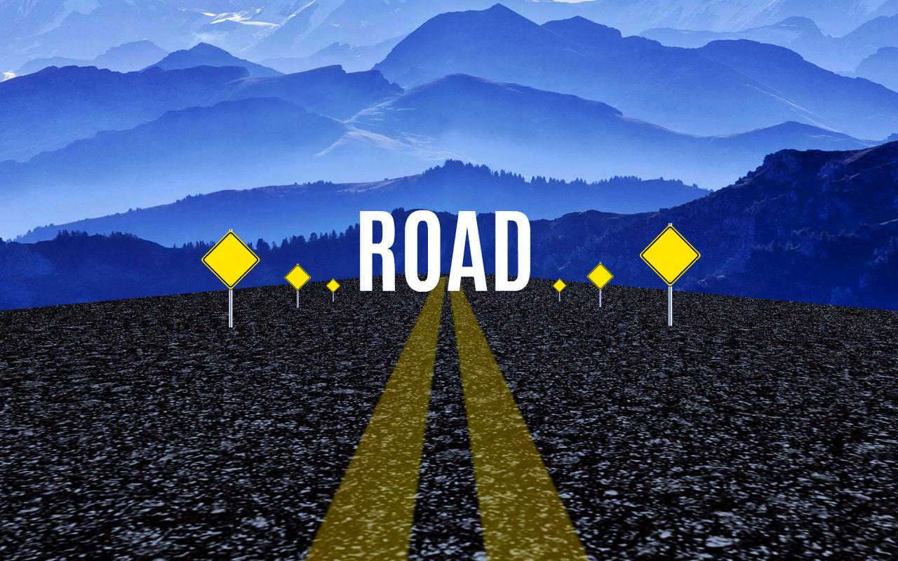 Road-Prezi-presentation-template