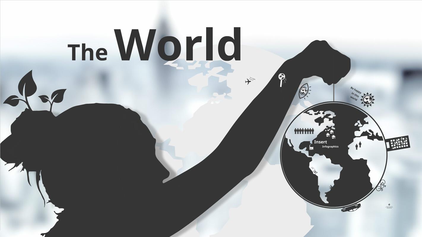 The World Prezi Template