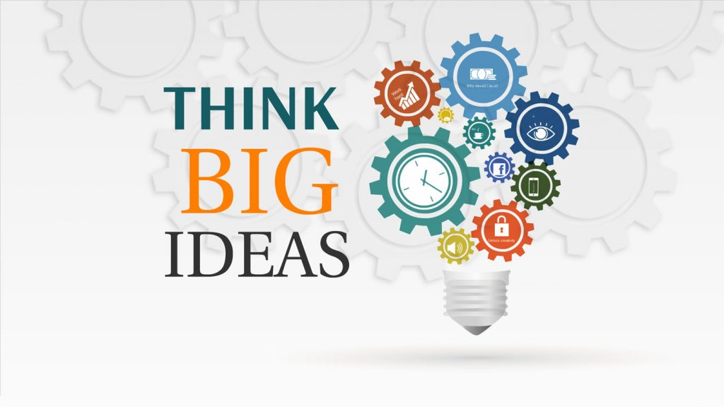 Think Big Prezi template