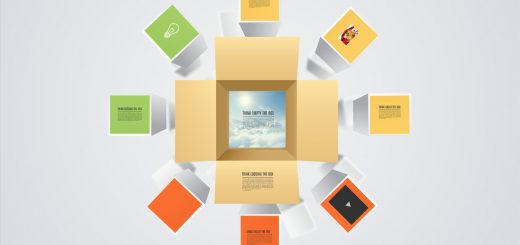 Think outside box Presentation template 6
