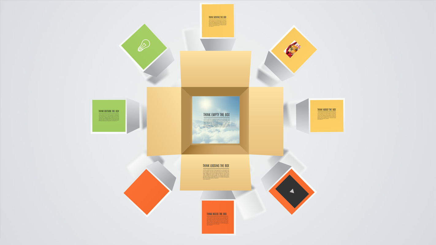 Think outside box Presentation template