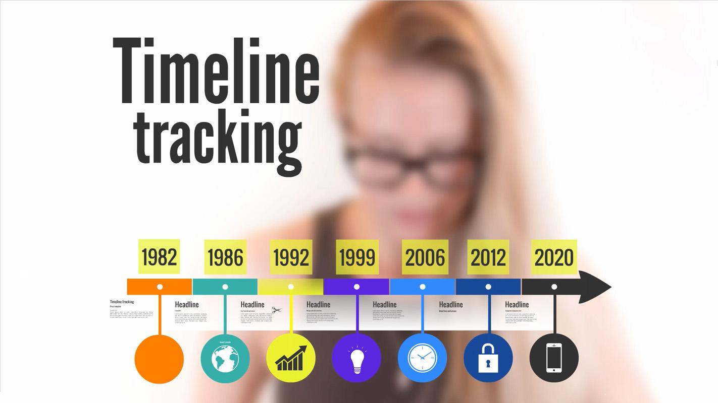 Timeline tracking Prezi template