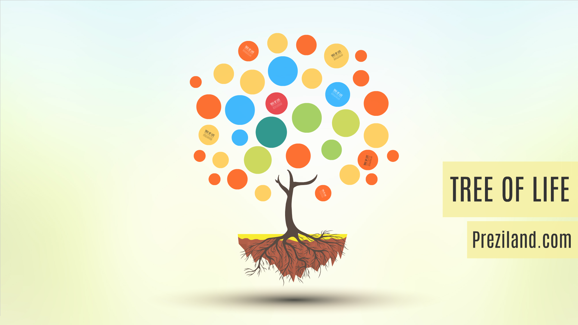 Tree of life Prezi template video