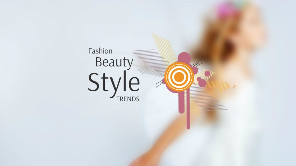 Trends and fashion presentation template