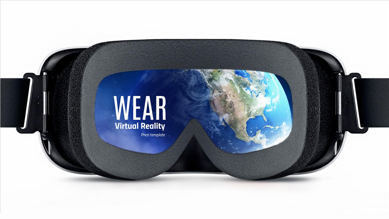 Virtual reality Prezi template