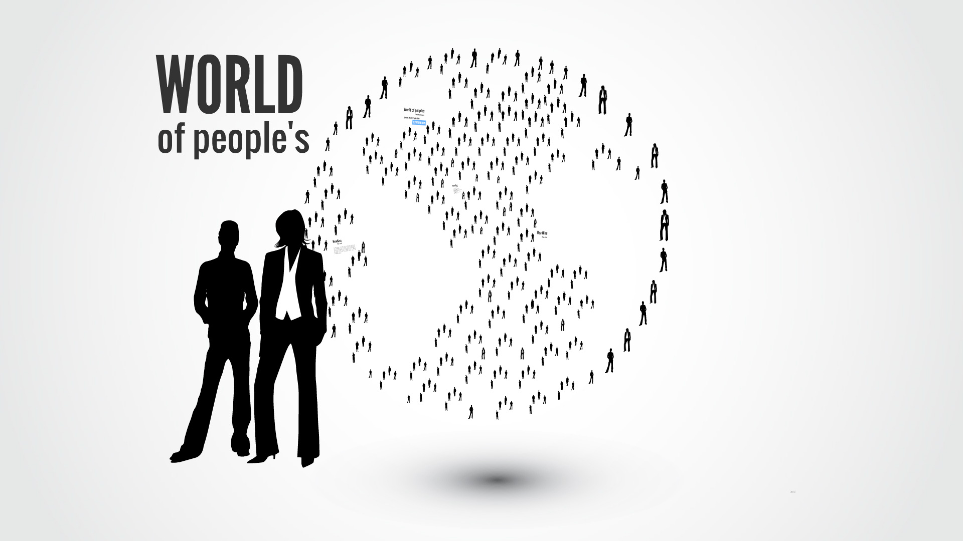 World of peoples Prezi template