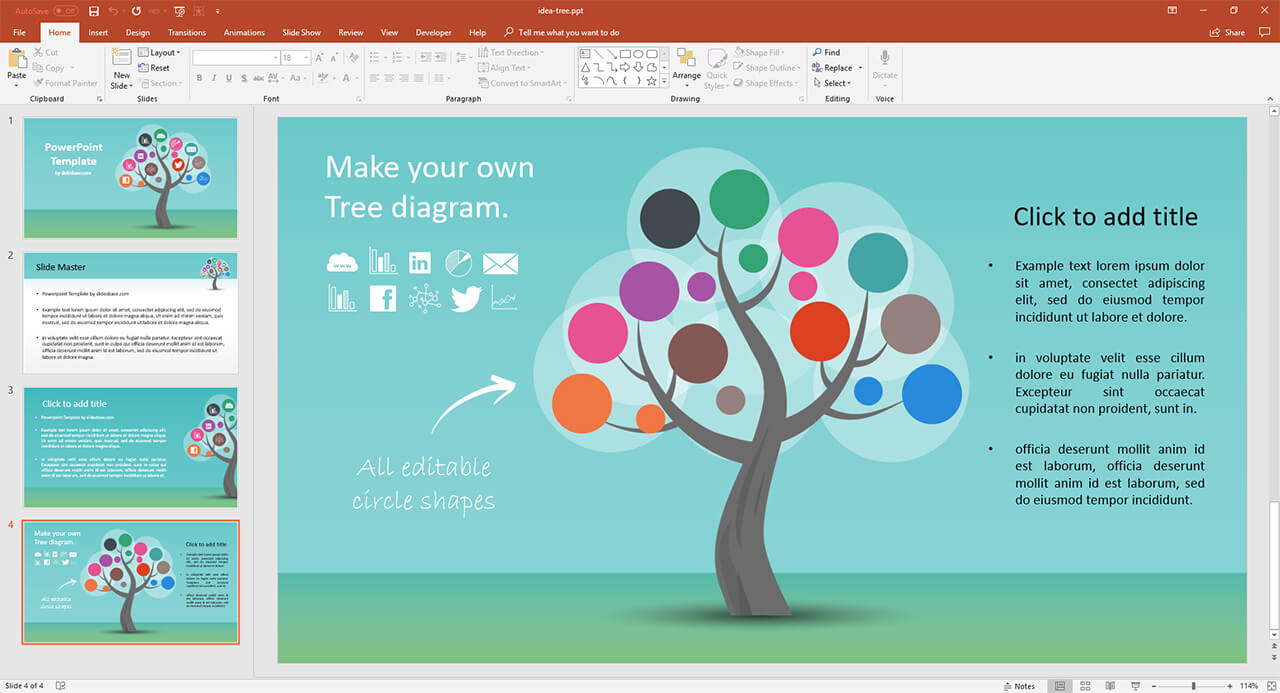 Idea Tree  U2013 Prezi Presentation Template