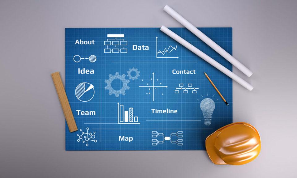 Blueprint Prezi Presentation Template