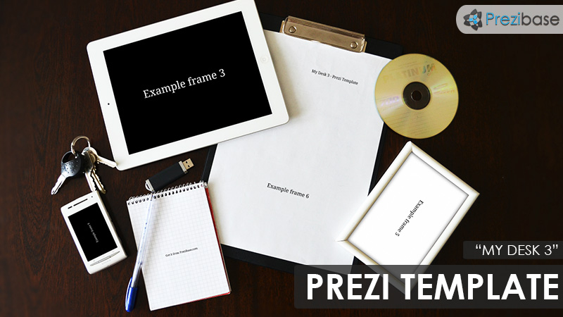 My Desk 3 – Prezi Presentation Template | | Creatoz collection