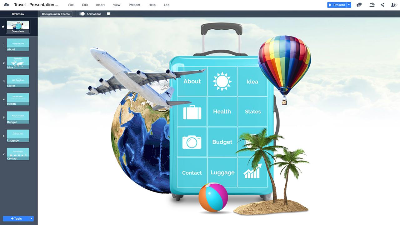 3d-путешествия-отдых-тематический-Prezi-презентация-шаблон