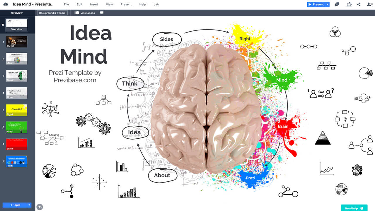 idea-mind-brain-neuroscience-creative-thoughts-presentation-template-prezi-and-powerpoint