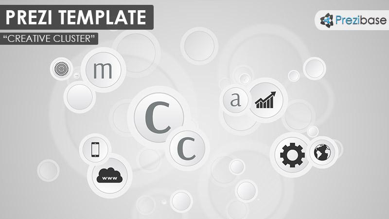 Creative Cluster – Prezi Presentation Template | | Creatoz collection