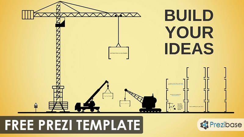 Build Your Ideas Prezi Presentation Template Creatoz