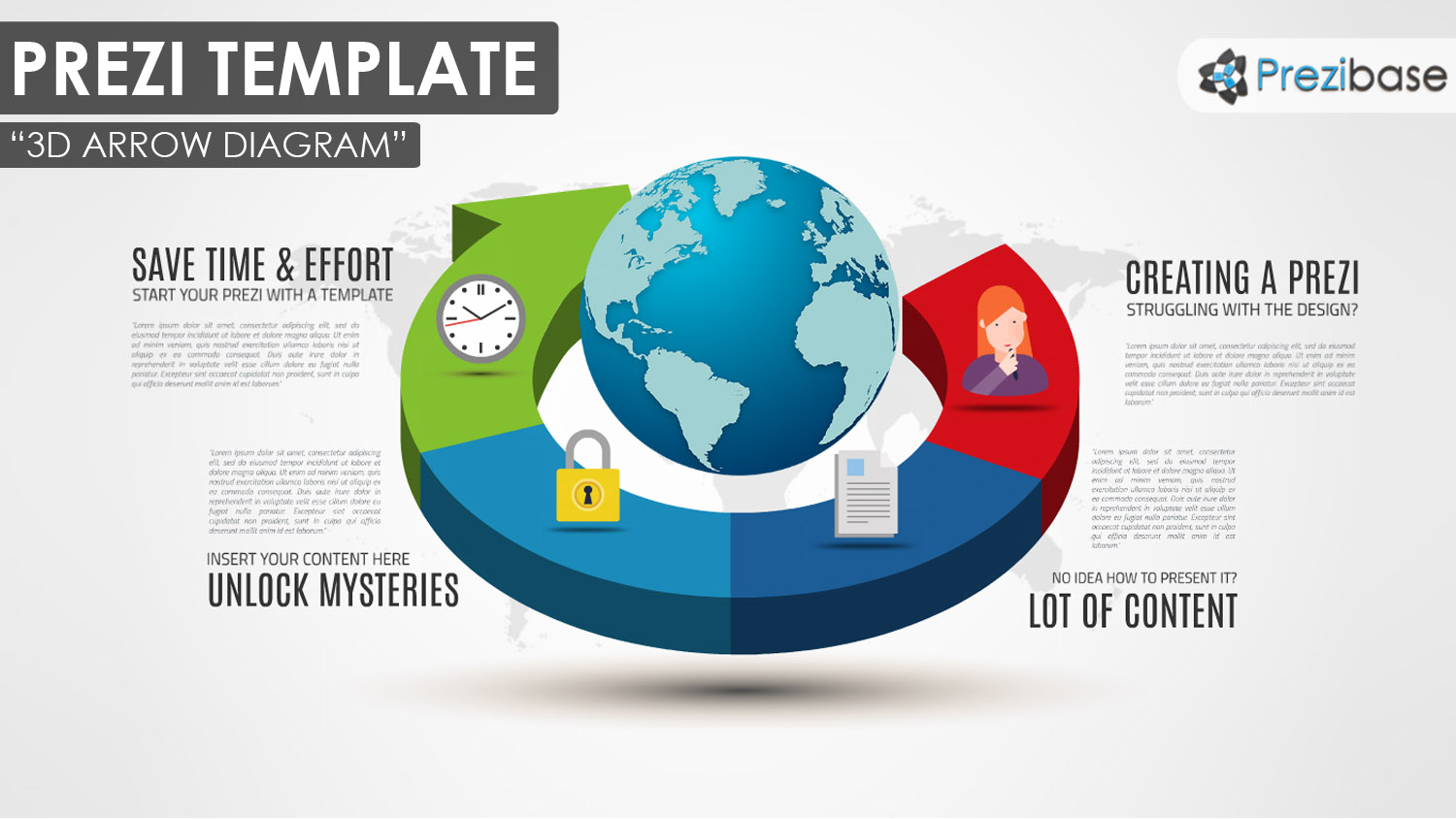 3d arrow diagram prezi presentation template creatoz collection ccuart Gallery