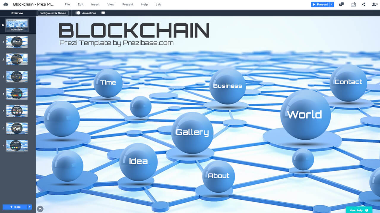 blockchain-3d-network-crypto-bitcoin-presentation-template-powerpoint-prezi