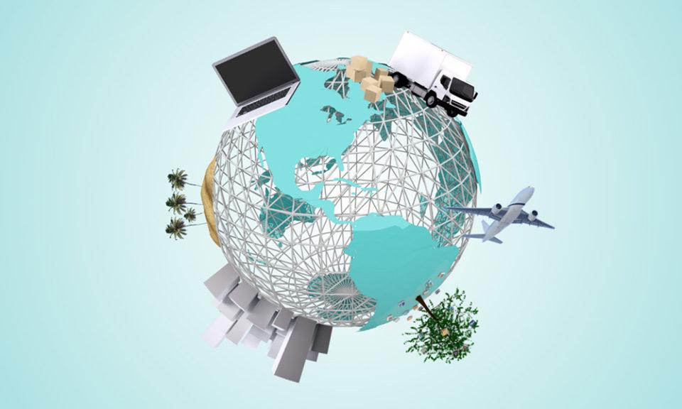 3D World Prezi Presentation Template