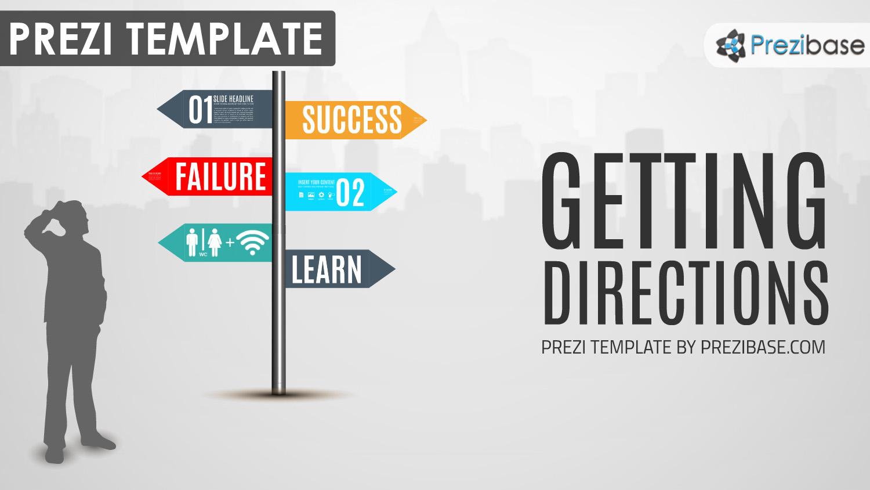 Directions prezi presentation template creatoz collection friedricerecipe Choice Image