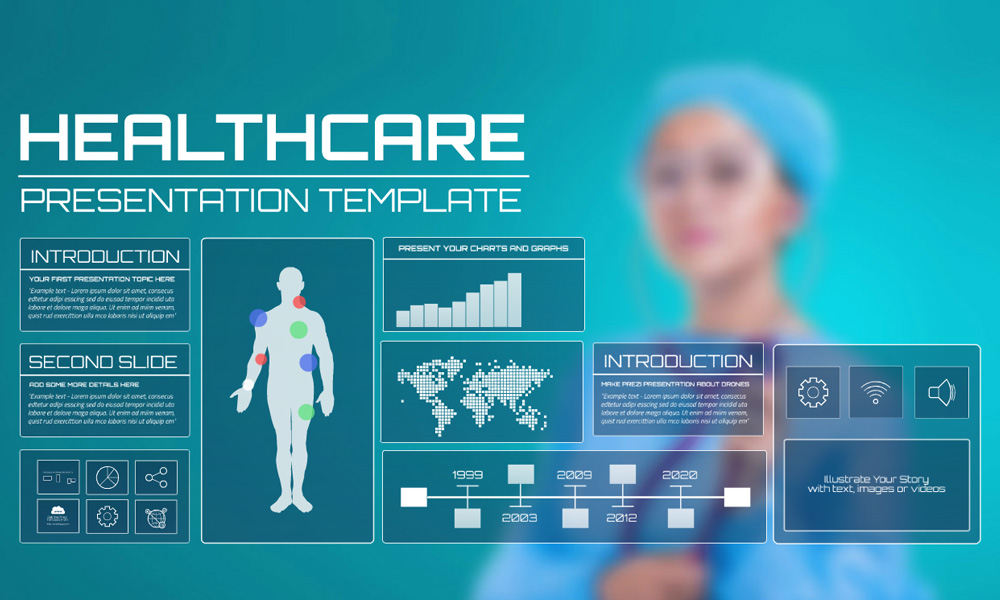 healthcare prezi presentation template creatoz collection