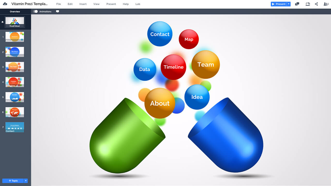 vitamin-colorful-3D-drugs-capsules-prezi-presentation-template