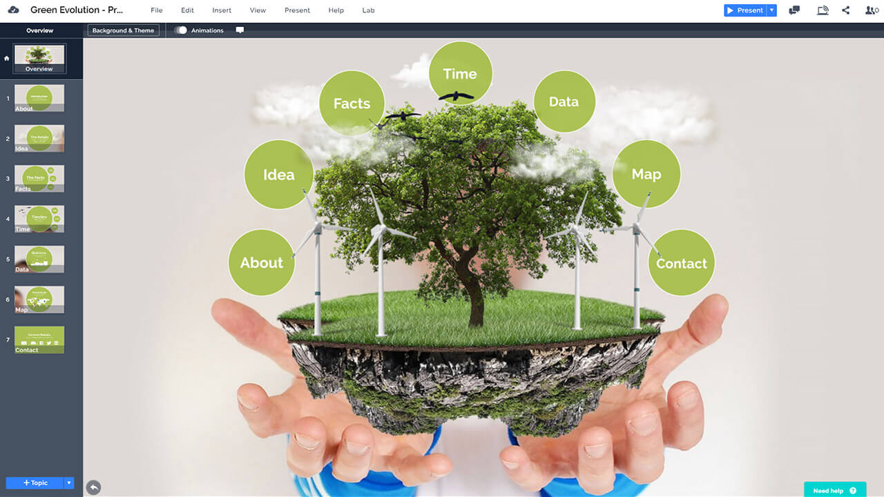 green-technology-renewable-sources-wind-solar-power-creative-eco-presentation-template-prezi-ppt