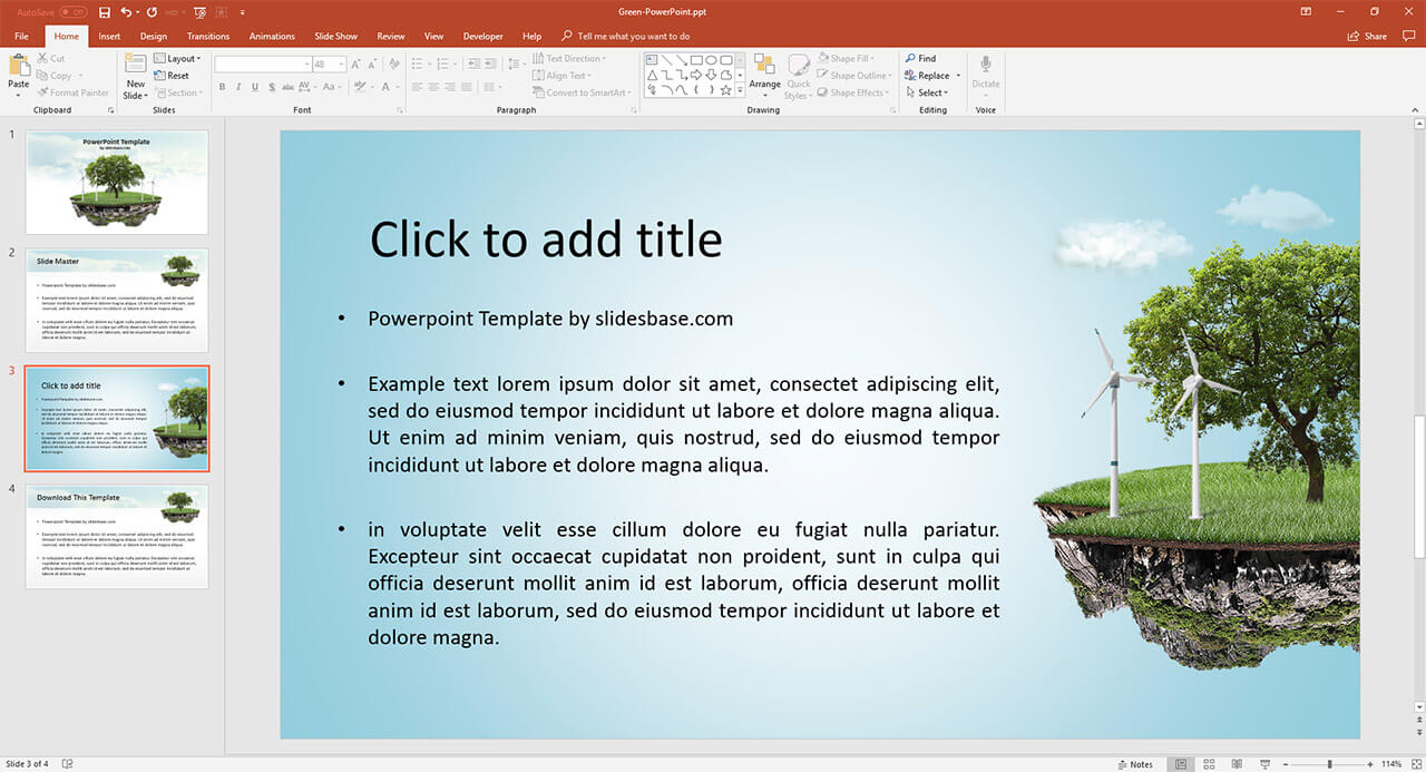 creative-3d-green-eco-island-renewable-energy-sources-powerpoint-ppt-template