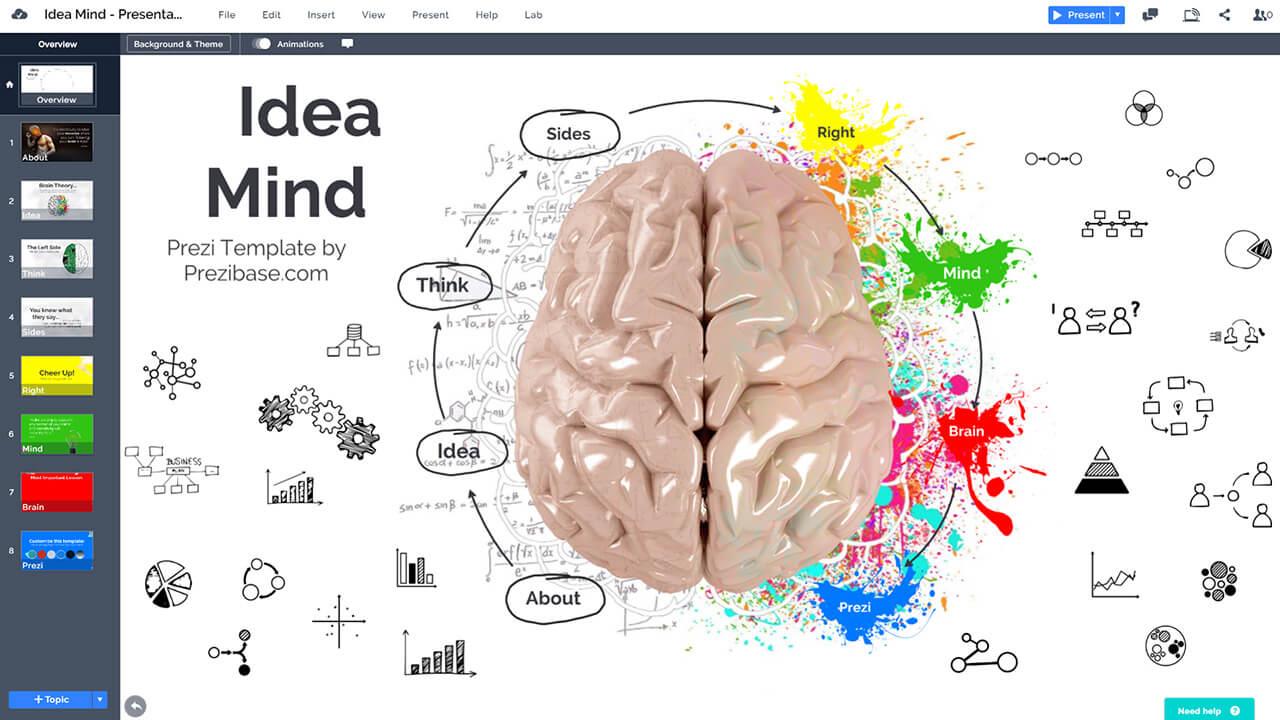 idea-mind-brain-neuroscience-creative-thoughts-presentation-template-prezi-and-powerpoint