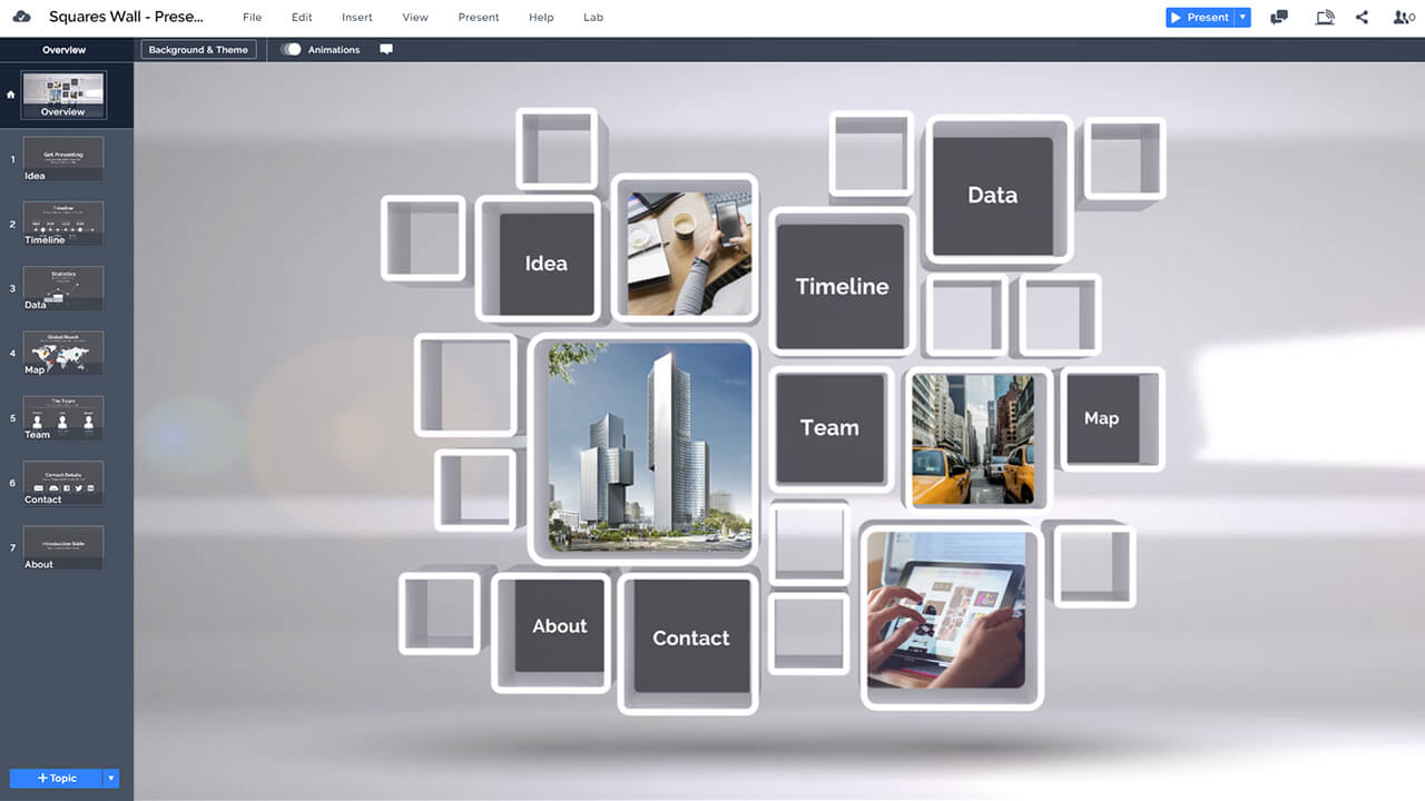 3d-wall-content-structure-professional-rectangles-design-prezi-presentation-template