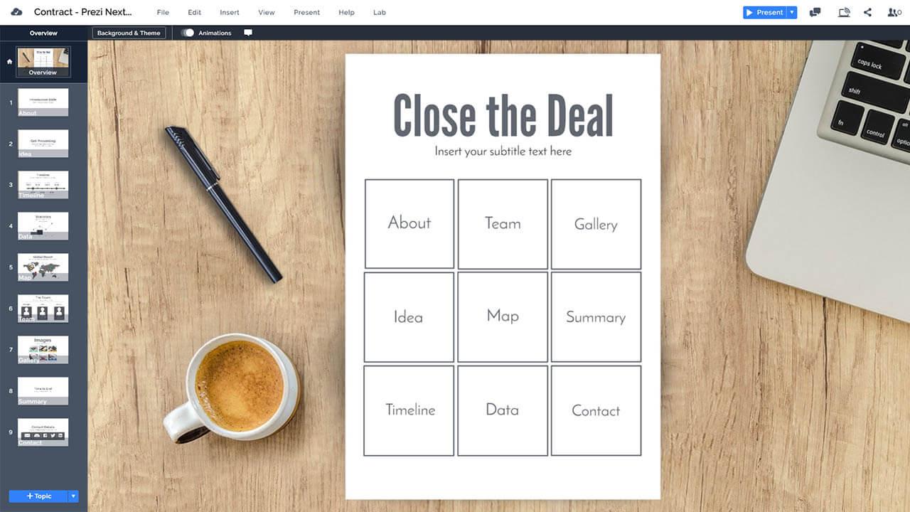 business-contract-deal-legal-paper-due-diligence-prezi-presentation-template