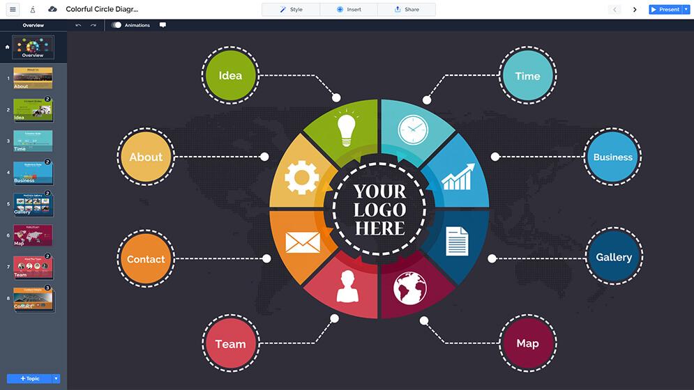 free-colorful-circle-diagram-free-prezi-next-presentation-template