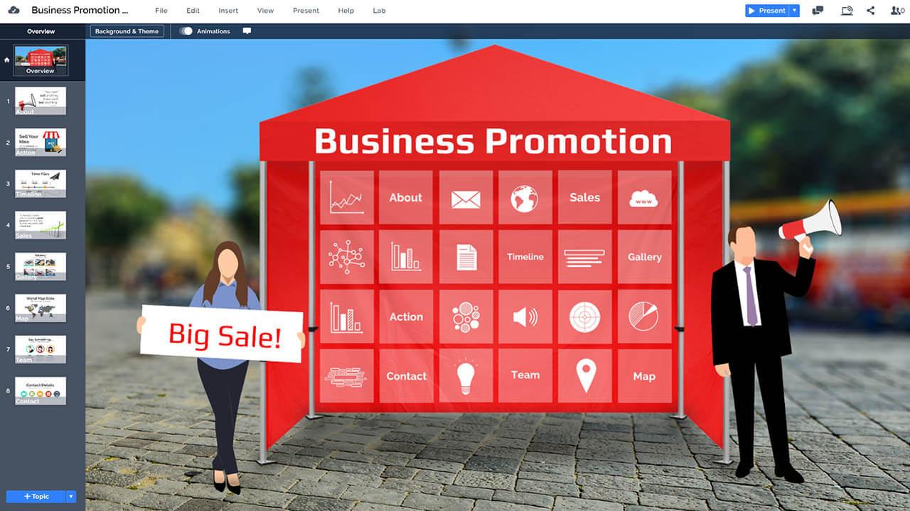 marketing-promotion-advertising-tent-prezi-presentation-template